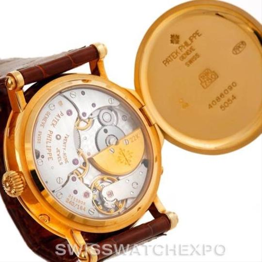 Patek Philippe Patek Philippe Complications Power Reserve Moonphase Yellow Gold Watch 5054