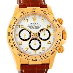 Rolex Rolex Cosmograph Daytona 18k Yellow Gold Watch 16518