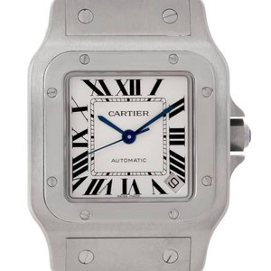 Cartier Cartier Santos Galbee Steel Mens Watch W20098d6