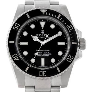 Rolex Rolex Submariner Mens Steel Non Date Watch 114060