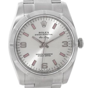 Rolex Rolex Oyster Perpetual Air King Stainless Steel Watch 114210
