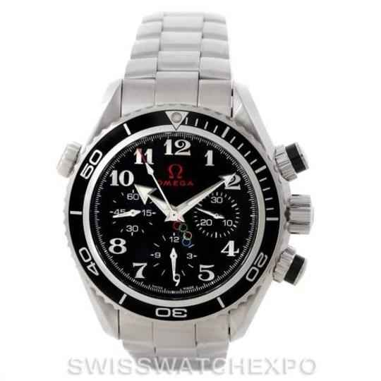 Omega Omega Seamaster Planet Ocean Olympic Watch 222.30.38.50.01.003 Unworn Image 2