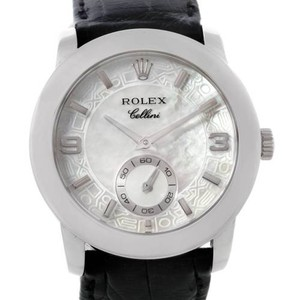 Rolex Rolex Cellini Cellinium Platinum Mens Watch 5240