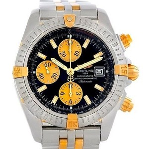 Breitling Breitling Chronomat Steel 18k Gold Watch B13356