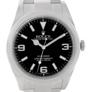 Rolex Rolex Explorer I Steel Mens Watch 214270