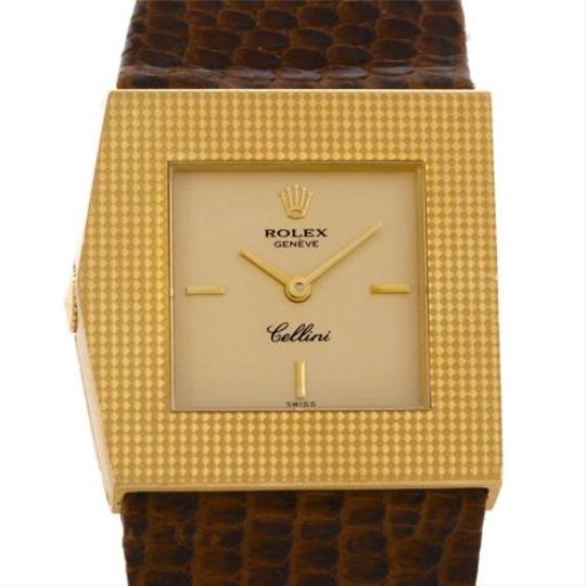 Rolex Rolex Cellini King Midas Vintage 18k Yellow Gold Watch 4126