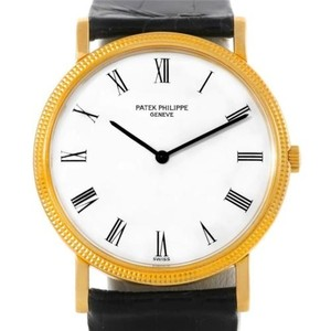 Patek Philippe Patek Philippe Calatrava 18k Yellow Gold Watch 3520