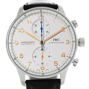 IWC Iwc Portuguese Chrono Automatic Stainless Steel Mens Watch Iw371445