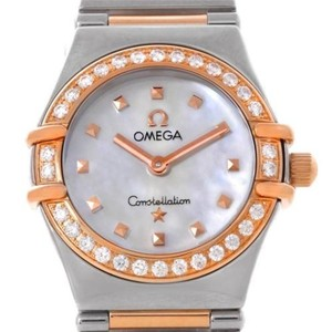 Omega Omega Constellation My Choice Mini Diamond Watch 1368.71.00