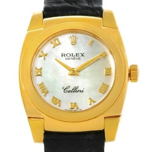Rolex Rolex Cellini Cestello Ladies 18k Yellow Gold Watch 5310