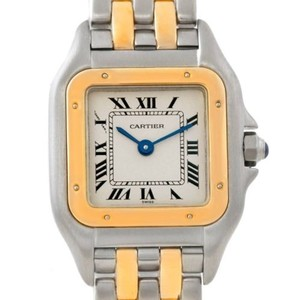 Cartier Panthere Ladies Steel 18k Yellow Gold Watch W25029b6