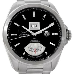 TAG Heuer Tag Heuer Grand Carrera Automatic Gmt Chrono Mens Watch WAV5111