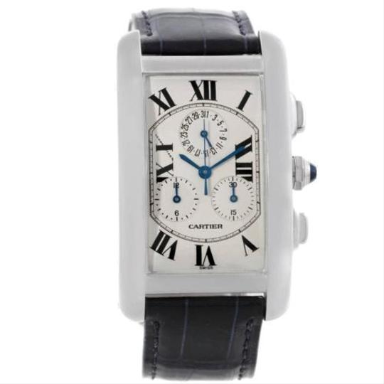 Cartier Cartier Tank Americaine Chronograph 18k White Gold Watch W2603356