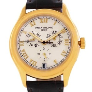 Patek Philippe Patek Philippe Complicated Annual Calendar Yellow Gold Watch 5035