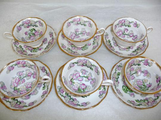 Preload https://item4.tradesy.com/images/white-and-multi-color-may-blossom-lot-of-six-vintage-floral-teacup-saucer-set-fine-china-3454768-0-0.jpg?width=440&height=440