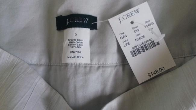 J.Crew New With Tags Size 0 Above Knee Sold Out Mini Skirt Light Pewter (gray)