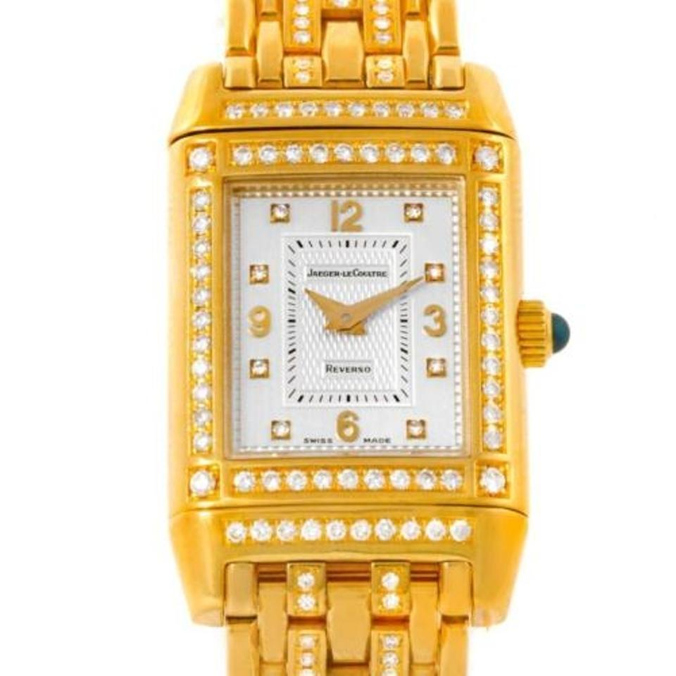 e8cb9b961718 Jaeger-LeCoultre Jaeger Lecoultre Reverso 18k Yellow Gold Ladies Watch  267.1.86 Image 0 ...