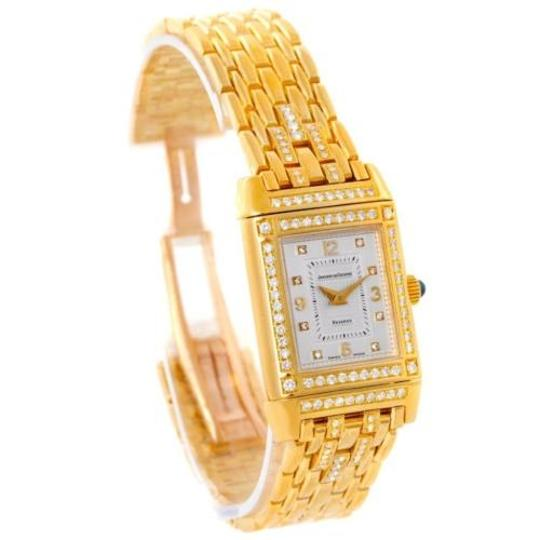Jaeger-LeCoultre Jaeger Lecoultre Reverso 18k Yellow Gold Ladies Watch 267.1.86 Image 1
