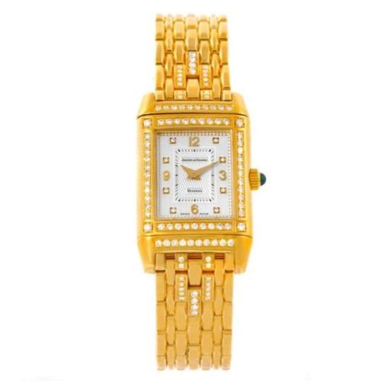 Jaeger-LeCoultre Jaeger Lecoultre Reverso 18k Yellow Gold Ladies Watch 267.1.86 Image 2
