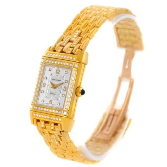 Jaeger-LeCoultre Jaeger Lecoultre Reverso 18k Yellow Gold Ladies Watch 267.1.86 Image 3