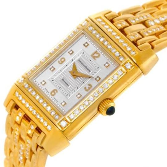 Jaeger-LeCoultre Jaeger Lecoultre Reverso 18k Yellow Gold Ladies Watch 267.1.86 Image 4