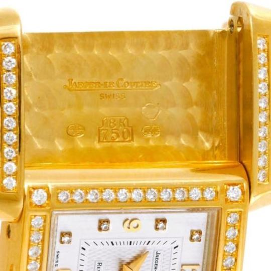 Jaeger-LeCoultre Jaeger Lecoultre Reverso 18k Yellow Gold Ladies Watch 267.1.86 Image 5