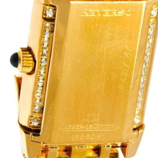 Jaeger-LeCoultre Jaeger Lecoultre Reverso 18k Yellow Gold Ladies Watch 267.1.86 Image 8