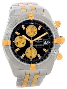 Breitling Breitling Chronomat Steel 18k Yellow Gold Watch B13356 Unworn