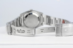 Rolex Oyster Perpetual Silver Dial Watch