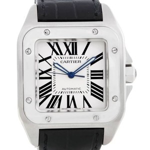 Cartier Cartier Santos Steel Automatic Mens Watch W20073x8