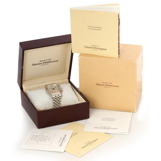 Girard-Perregaux Girard Perregaux Richeville Chronograph Steel And Rose Gold Watch 2710