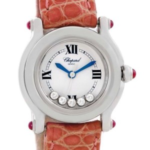 Chopard Chopard Happy Sport Diamond White Dial Ladies Watch 278245-21