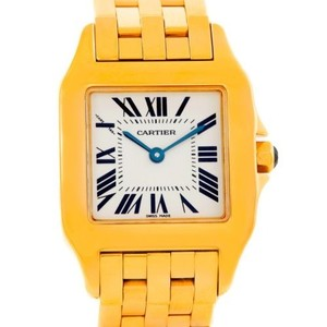 Cartier Cartier Santos Demoiselle Midsize 18K Yellow Gold Watch W25062X9