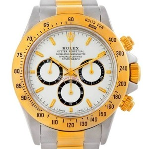Rolex Rolex Cosmograph Daytona Steel And Gold Mens Watch 16523