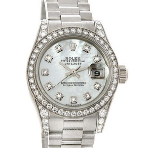 Rolex Rolex President Ladies 18k Gold Diamond Watch 179159