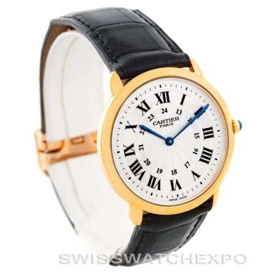 Cartier Cartier Ronde Louis Privee 18k Yellow Gold Watch Image 1