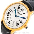 Cartier Silver Ronde Louis Privee 18k Yellow Gold Watch Cartier Silver Ronde Louis Privee 18k Yellow Gold Watch Image 5