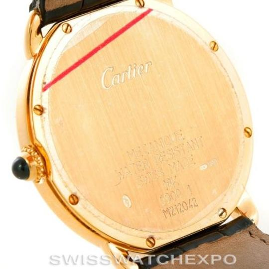Cartier Cartier Ronde Louis Privee 18k Yellow Gold Watch Image 7