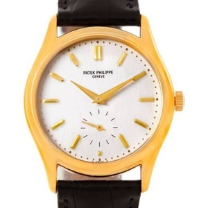 Patek Philippe Patek Philippe Calatrava 18k Yellow Gold Mens Watch 5023