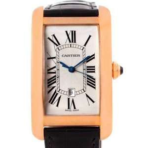 Cartier Cartier Tank Americaine 18k Rose Gold Watch W2609156