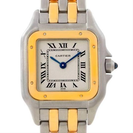 Preload https://item1.tradesy.com/images/cartier-cartier-panthere-ladies-steel-18k-yellow-gold-watch-w25029b6-3455425-0-0.jpg?width=440&height=440