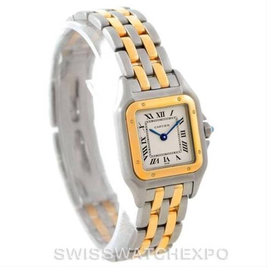 Cartier Cartier Panthere Ladies Steel 18k Yellow Gold Watch W25029B6