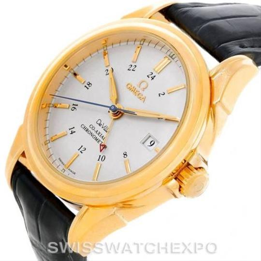 Omega Omega Deville Co-axial Gmt 18k Yellow Gold Watch 4633.30.31