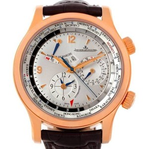 Jaeger-LeCoultre Jaeger Lecoultre Master World Geographic 18k Rose Gold Watch 146.2.32.S