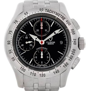 Tudor Tudor Chronoautic Stainless Steel Mens Watch 79380