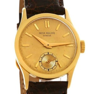 Patek Philippe Patek Philippe Calatrava Vintage 18k Yellow Gold Watch 96