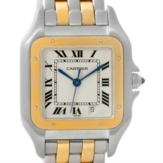 Cartier Cartier Panthere Steel 18k Yellow Gold Watch W25028B6