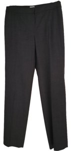 Armani Collezioni Gray Straight Pants grey