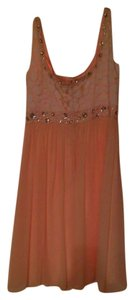 Antonio Melani Chiffon Studded Dress