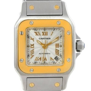 Cartier Cartier Santos Steel 18k Yellow Gold Watch W20057c4